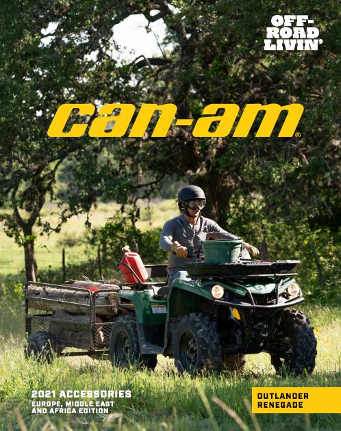 Каталог аксесуарів Can-Am ATV Outlander Renegade 2021