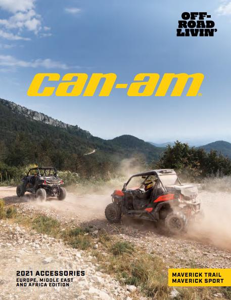 Каталог аксесуарів Can-Am SSV Maverick Trail Sport 2021