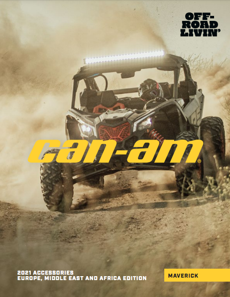 Каталог аксесуарів Can-Am SSV Maverick 2021